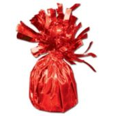 Red Foil Balloon Weight - 2.5 Inch