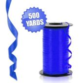 Blue Crimped Curling Ribbon - 500 Yards