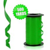 Green Crimped Curling Ribbon - 500 Yards
