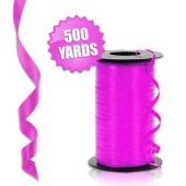 Hot Pink Crimped Curling Ribbon - 500 Yards