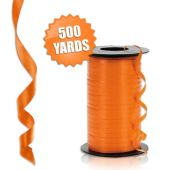 Orange Crimped Curling Ribbon - 500 Yards