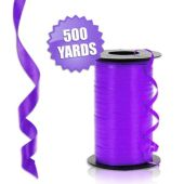 Purple Crimped Curling Ribbon - 500 Yards
