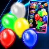LED Balloons - 5 Per Unit