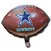 "Dallas Cowboys Football Metallic 18"" Balloon"