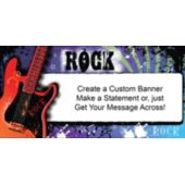 Rock Star Hero Custom Banner