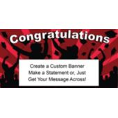 Red Graduation Custom Banner