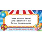 Big Top Circus Custom Banner