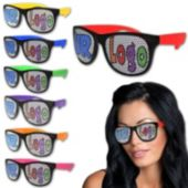 Neon Custom Retro Sunglasses-12 Pack