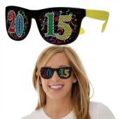 2015 Neon Yellow Sunglasses