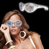 White LED Novelty Custom Sunglasses