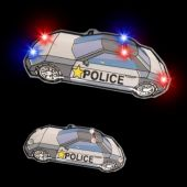 Flashing Police Car LED Blinkies - 12 Pack