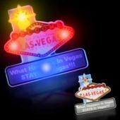 Flashing Las Vegas LED Blinkies - 12 Pack