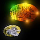 Flashing White Tiger LED Blinkies - 12 Pack