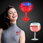 LED Red Wine Glass Blinky-12 Pack
