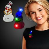 LED Snowman Blinky-12 Pack