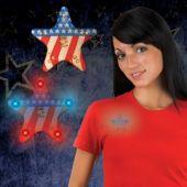 LED USA Star Blinkies-12 Pack