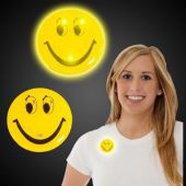 LED Smiley Face Blinky-12 Pack