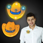LED Cowboy Hat Blinky-12 Pack