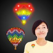 LED Hot Air Balloon Blinky-12 Pack