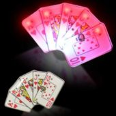 Flashing Hearts Royal Flush LED Blinkies - 12 Pack