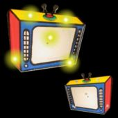 Flashing TV LED Blinkies - 12 Pack