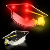 Flashing Graduation Cap LED Blinkies - 12 Pack