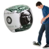 Dollar Bill Balls - 2 Inch, 12 Pack
