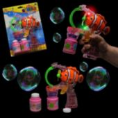 Clown Fish LED Bubble Gun