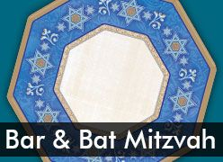 Bar & Bat Mitzvah Party Decorations