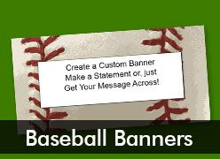 Baseball Custom Banners