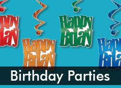 Birthday Party Supplies & Decorations