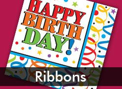 Birthday Ribbons Theme Party