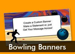 Bowling, Bingo, and Skating Custom Banners