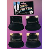 Colonial Shoe Gold Buckles