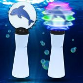 Dolphin LED and Light-Up Coin Spinner Wand