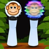 Monkey LED and Light-Up Coin Spinner Wand