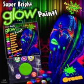 Green Super Bright Glow Paint