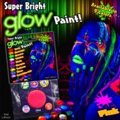 Pink Super Bright Glow Paint