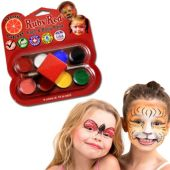 Rainbow Pallet Face Paint Kit