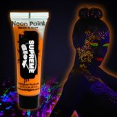 Sunshine Orange UV Face and Body Paint