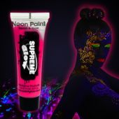 Pink UV Face and Body Paint