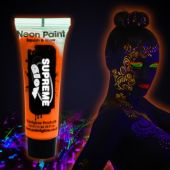 Orange UV Face and Body Paint