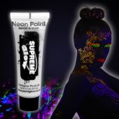 White UV Face and Body Paint