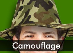 Camouflage-Themed Party Supplies