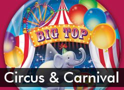 Circus & Carnival Theme Party Supplies
