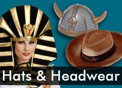 Costume Hats & Headwear