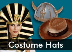 Costume Hats and Headwear