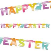 Happy Easter Foil Banner Decoration