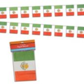 Mexican Flag Paper Banner Decoration
