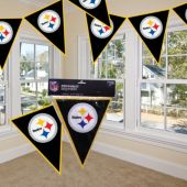 Pittsburgh Steelers Pennant Banner